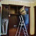 Установка мебели на объекте