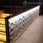 Декорирование интерьера из различных материалов