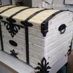 Уникальный деревянный сундук ручной работы