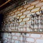 3D стена в кальян баре