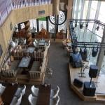 Вид на сцену со второго этажа